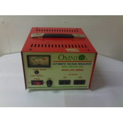 OMNI AC AUTOMATIC VOLTAGE REGULAR EQUIPED 1000VA